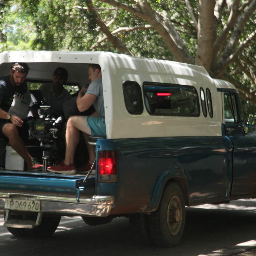 truck filming