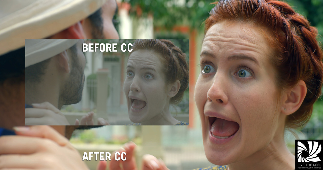 colour correction at Live The Reel