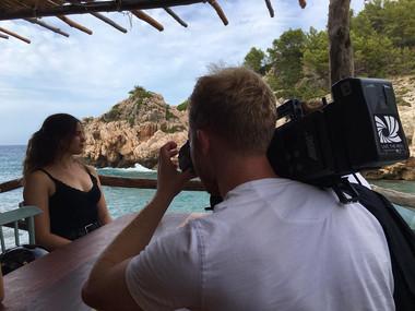 British Airways Mallorca documentary filming