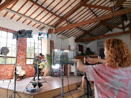 Music video studio shoot in Palma de Mallorca / BTS
