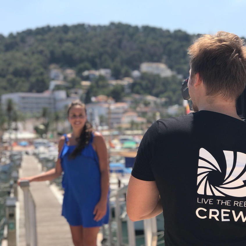 Live The Reel event filming Mallorca