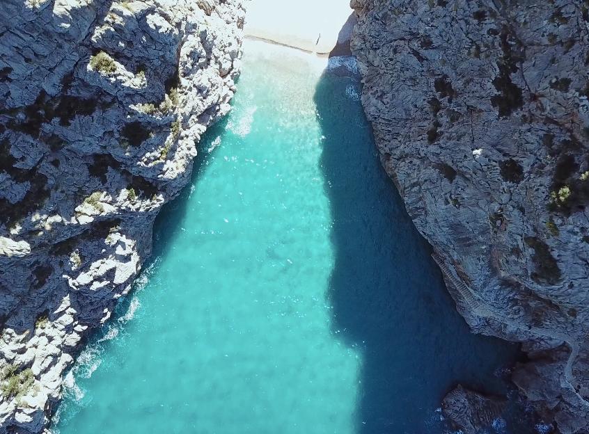 music video shoot in Mallorca, Spain