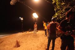 Lucas como Sara behind the scenes of the movie in Cuba.jpg