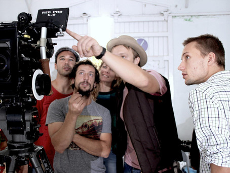 behind the scene images from a music video we produced in Mallorca, Spain
