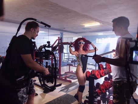 GUCCI CERRUCHI official music video + BTS stills music video production