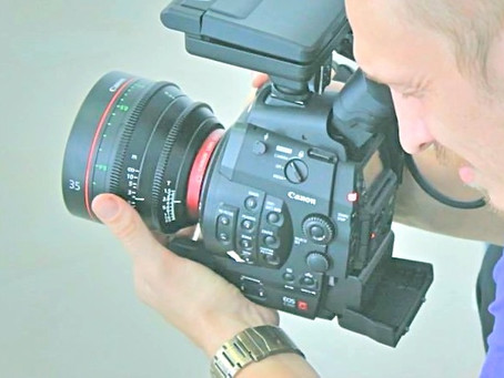 shooting with Canon Prime Cinema lenses