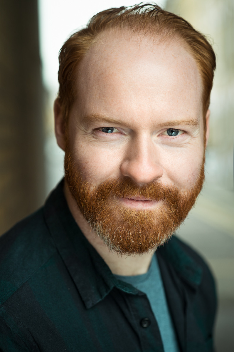 Andy Mcleod plays Dan in The Curious Room's short film The Introduction