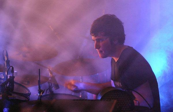 Shane Carpini on drums
