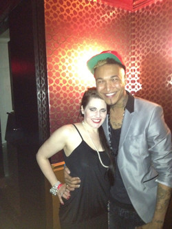 The Voice after party w Jamal