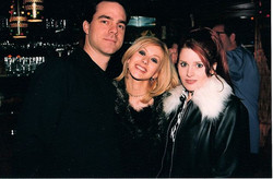 Heather Holley, Christina Aguilera, Rob Hoffman album wrap