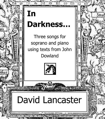 In Darkness - for soprano and piano