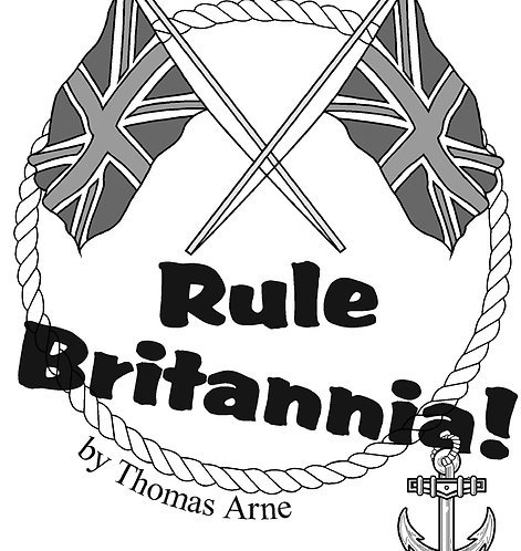 Rule Britannia - for brass band with vocal soloist