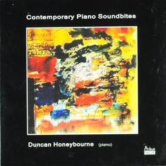 Contemporary Piano Soundbites - Audio CD