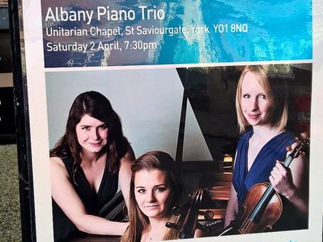 Albany Trio premieres Hiraeth