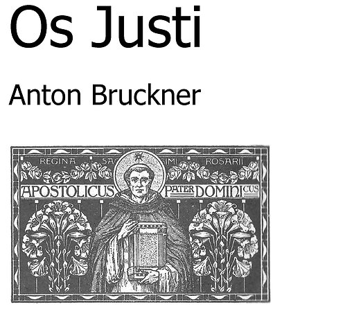 Os Justi - for brass band
