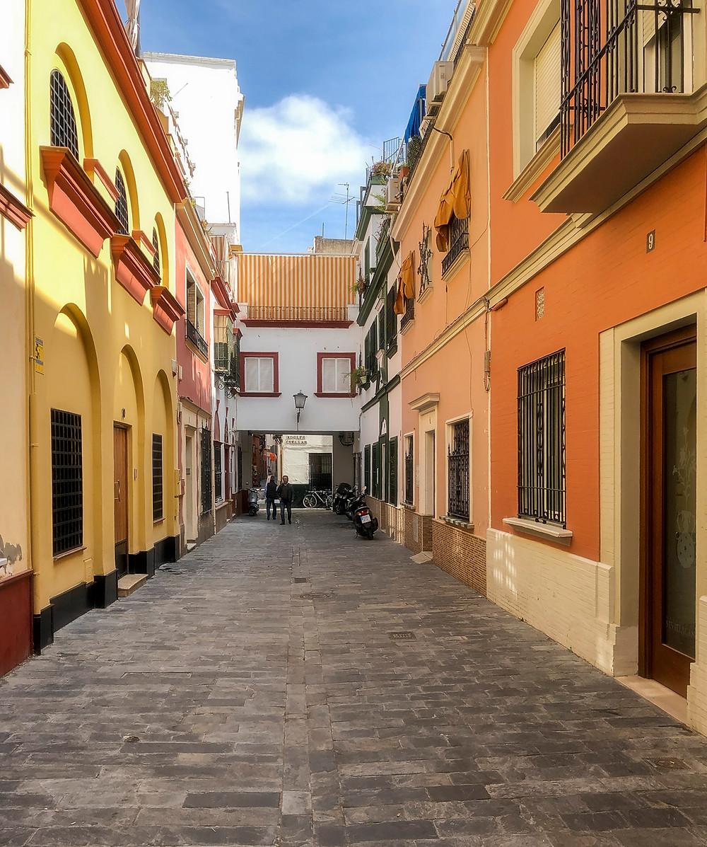 A street near La Taberna Del Alabard