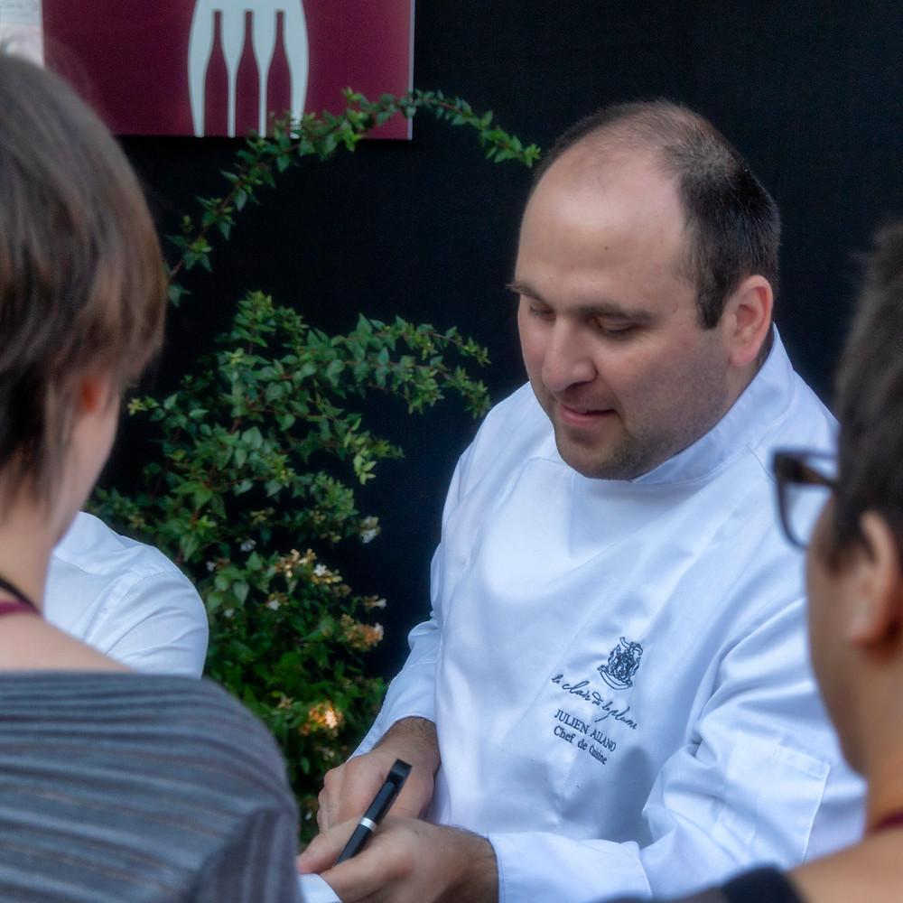 Chef Julian Alano