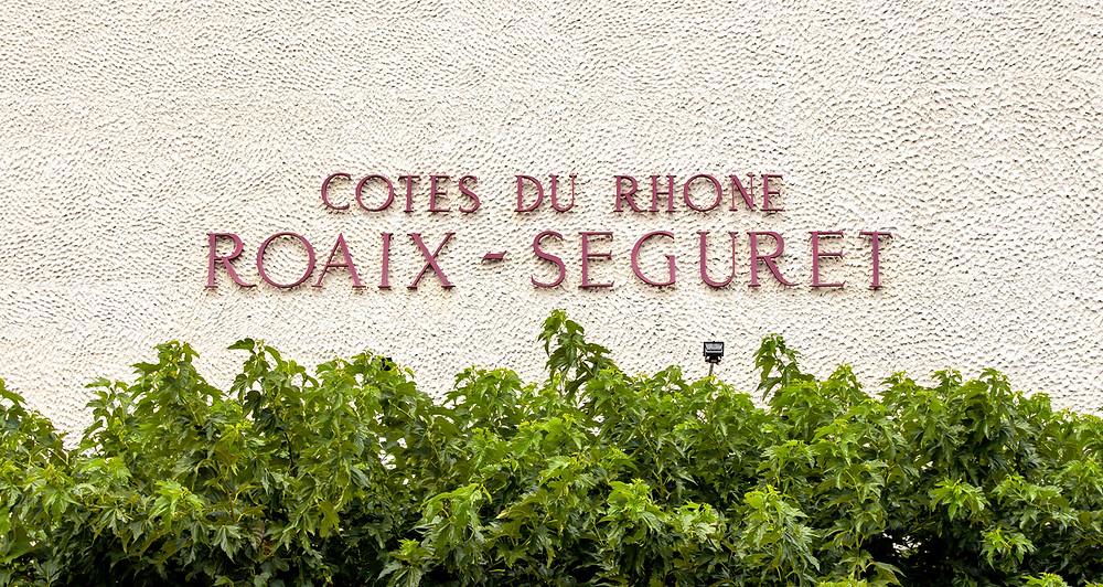 The Roaix-Seguret wine cooperative