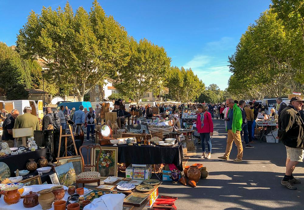 Market day in Villeneuve-lèz-Avignon