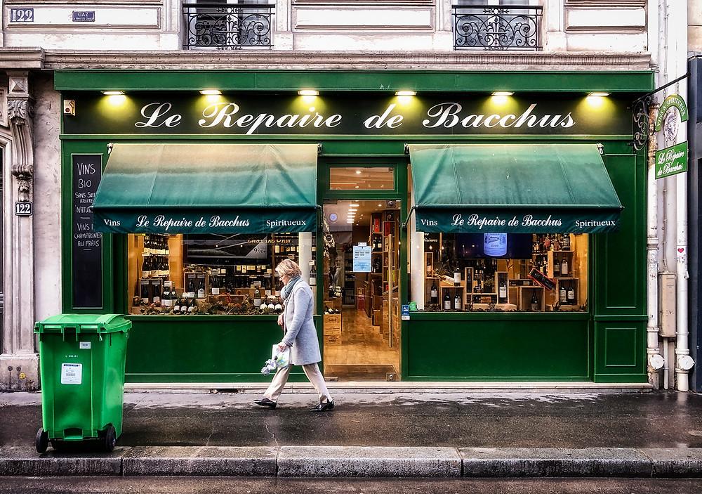 Le Repaire de Bacchus wine shop