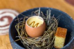 Egg in Nest Entrée