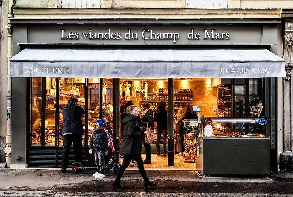 Boucherie along Rue Saint-Dominique