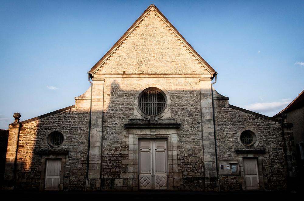 Facade of the church