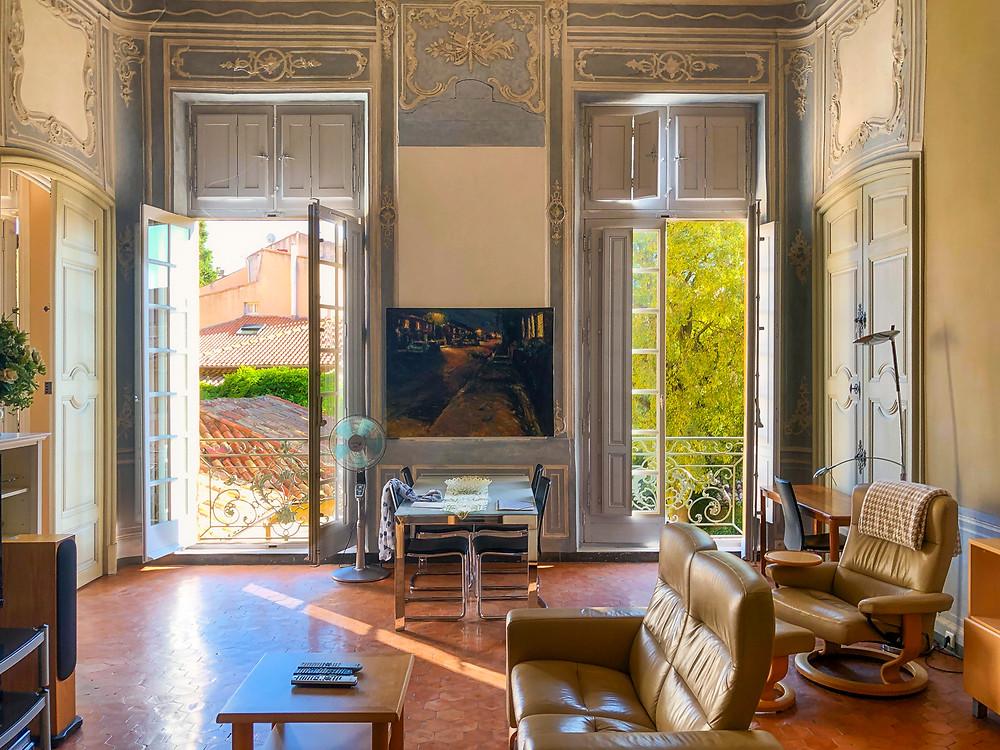 The salon at Rue de l'Opera