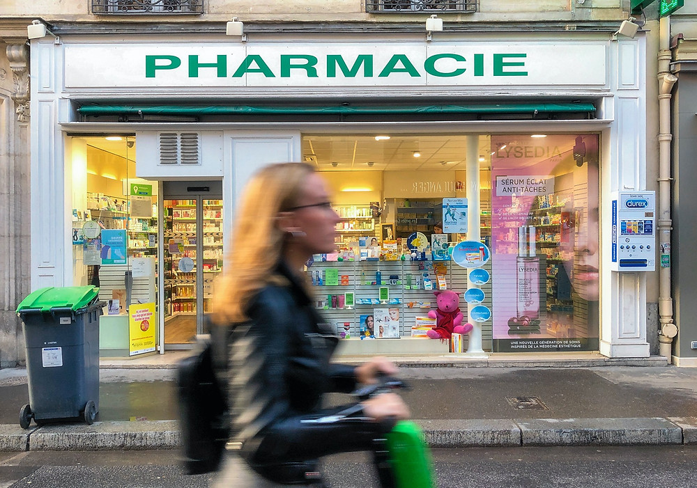 Pharmacy on Rue Saint-Dominique