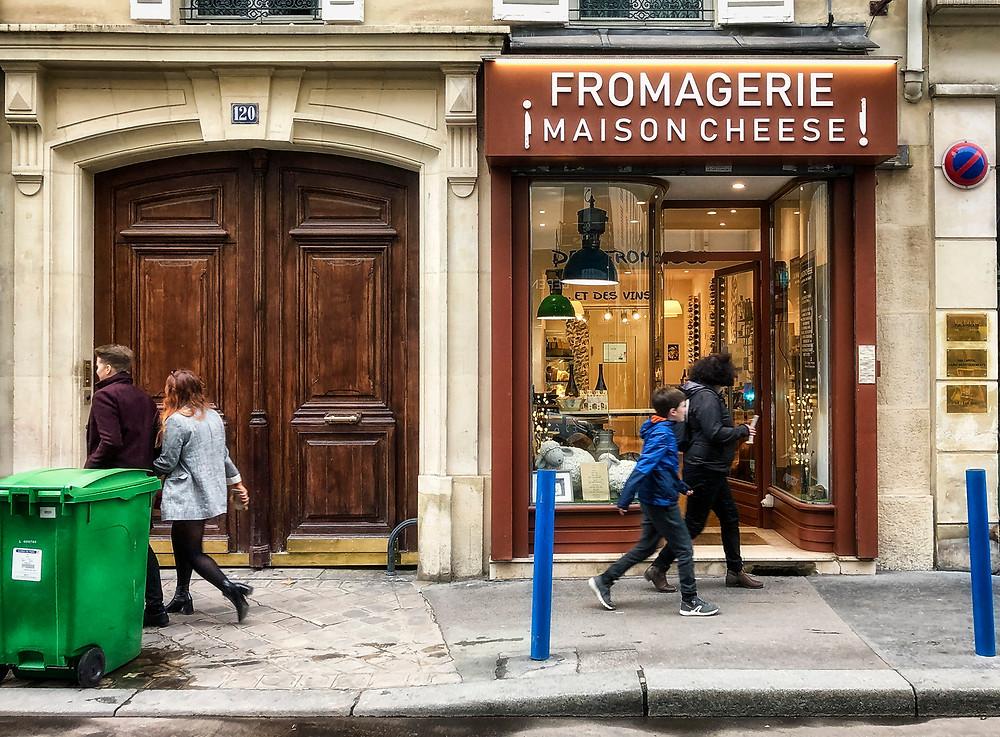 Rue Saint-Dominique cheese monger