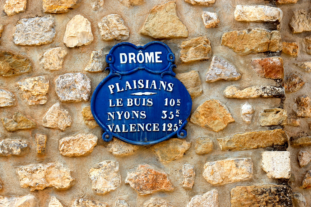 The village of Plaisians, in the department of the Drôme
