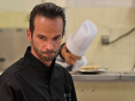 While My Guitar Gently Whisks – A Conversation With Chef Fabien Fage