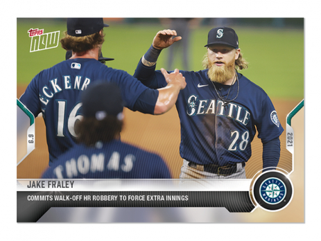 Lowest Print Run Topps Now Cards...So Far