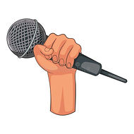 hand-holding-microphone-icon-cartoon-sty