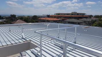 Roof Guard Rails.