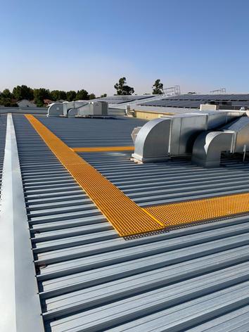 FRP Roof Walkway