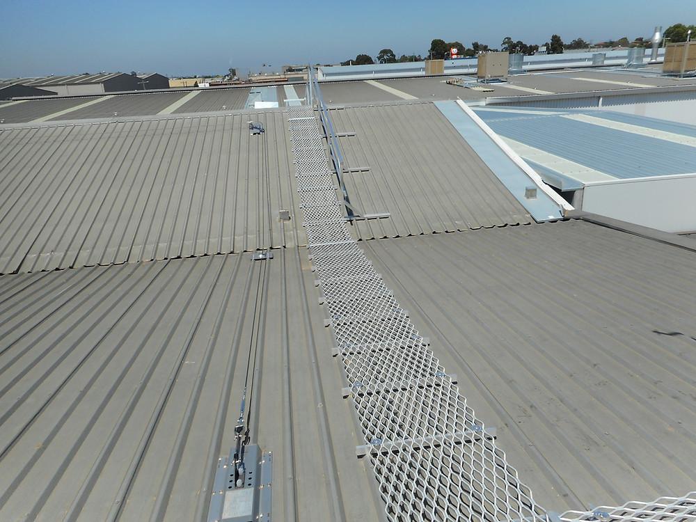 Roof Walkway. Roof Platform.