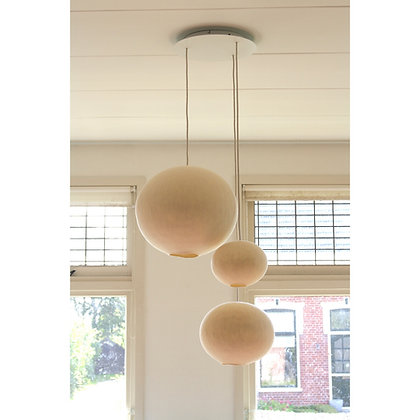 Ceiling cap XXL for 3 lamps