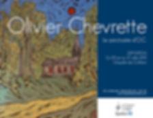Olivier Chevrette à la chapell des Cuthbert