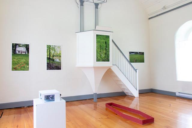 Images de l'exposition « Mémoire collective et autres récits » Crédits : Geneviève Moreau Juin 2019