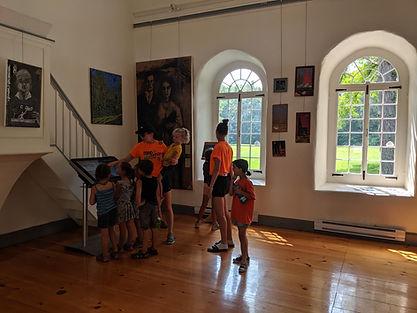 Visite scolaire chapelle des Cuthbert