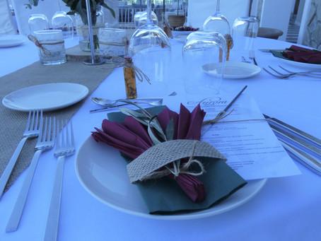 Vorbereitung Beach Wedding Porto Angeli Stegna/Rhodos 10.10.2020 für Jara und Alister Kennedy