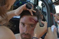 Maquillage pour cas concret secourisme