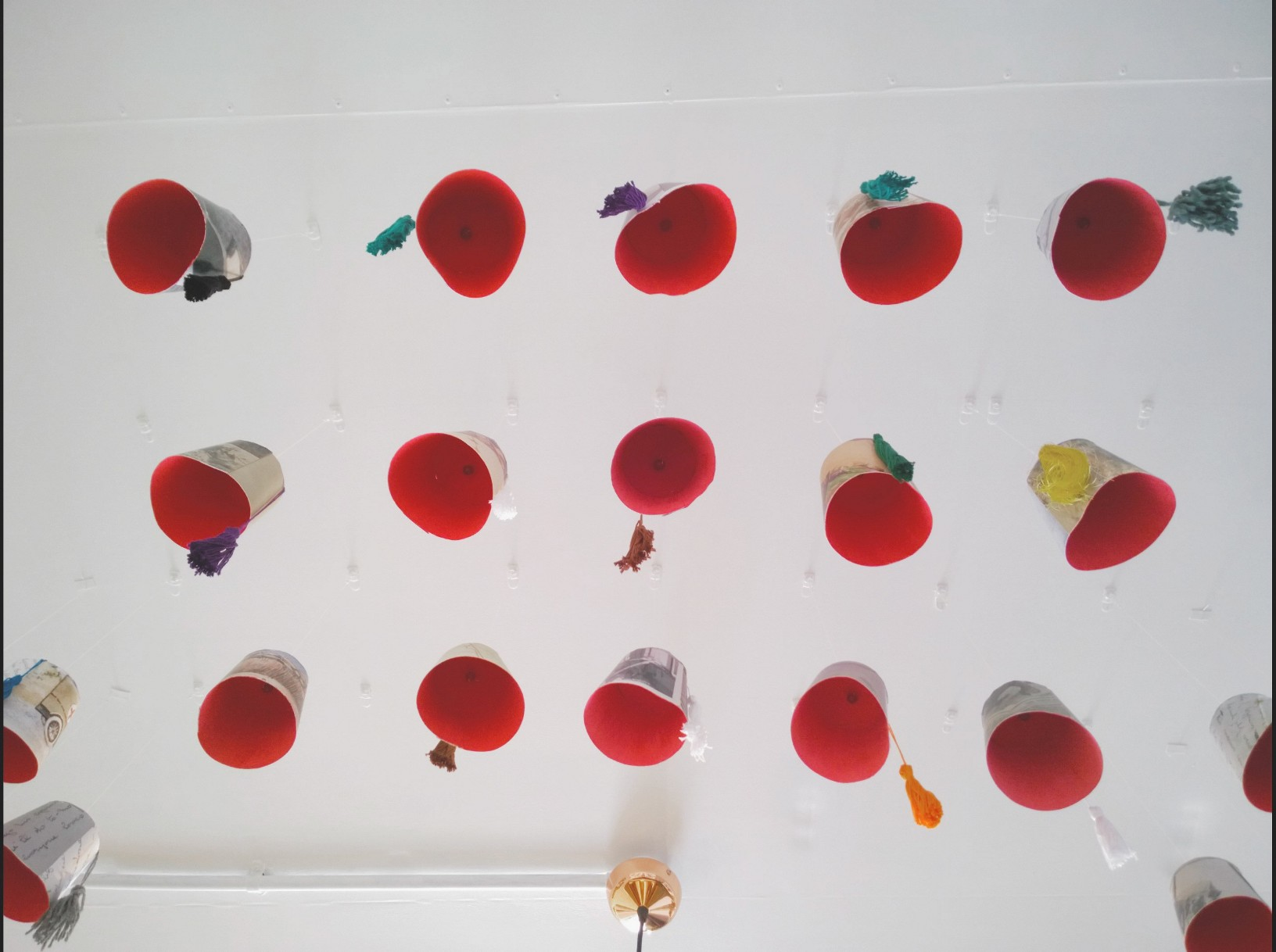 Fez Hats art installation