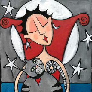 Cat-Whisperer-12x24-annagreenart-com.jpg