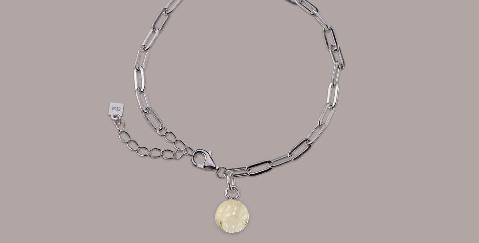 Bracelet Silver - Měsíční kámen