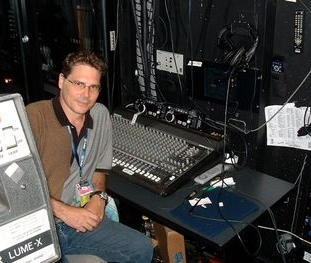 """Isabel Bader Theatre after recording Eddie Vedder (Pearl Jam) for world premiere of """"Body of War"""" directed by Phil Donahue and Ellen Spiro. TIFF 2007."""