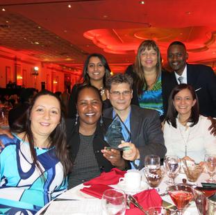 United Way Spirit Awards. Mississauga Grand Banquet & Event Centre. 2014.