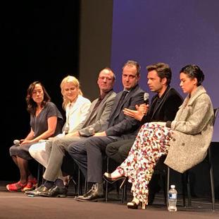 "Nicole Kidman,  Karyn Kusama and members of cast for ""Destoyer"" at the Winter Garden Theatre, TIFF 2018."