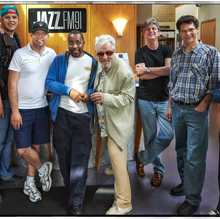 "Crew for ""Stay Aubrey!"" with Jaymz Bee at Jazz FM.91. 2013."